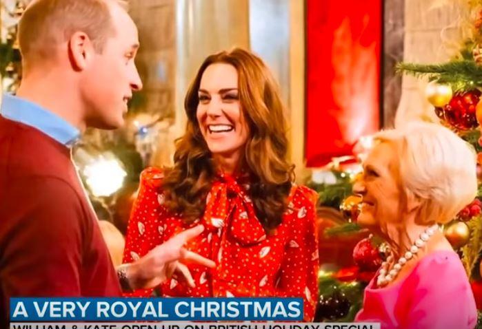 Кадр из передачи A Berry Royal Christmas