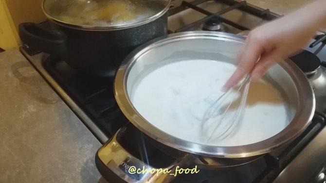 как делать соус бешамель для лазаньи