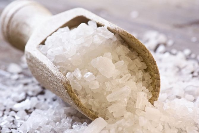 как делать ванны с морской солью