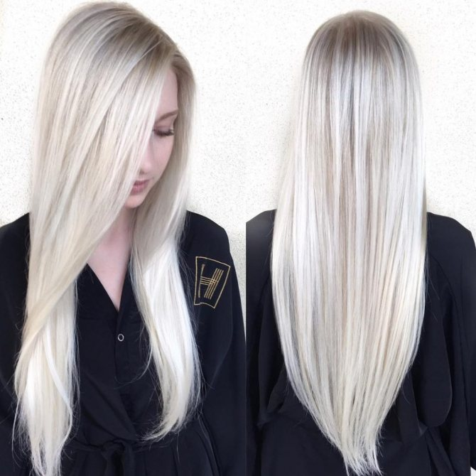 как достичь красивого блонда