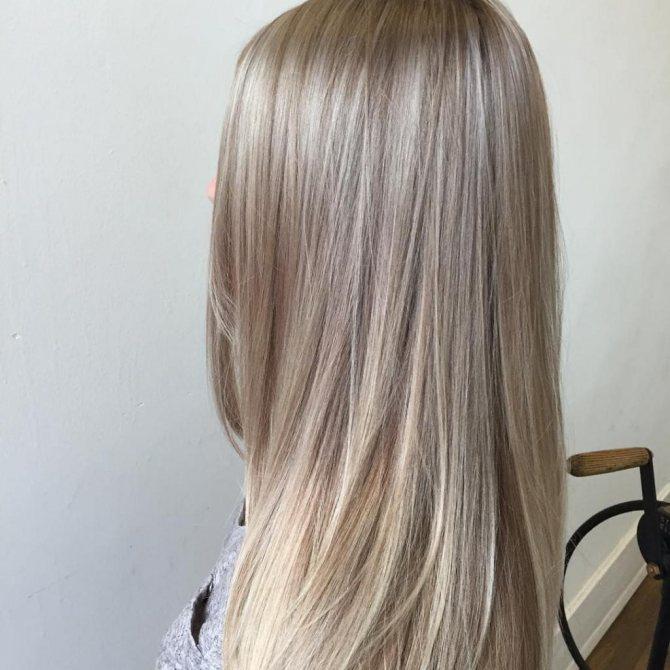 как достичь серебристого цвета волос