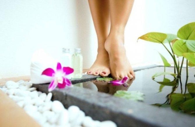 Как и когда делать ванночки для ног?