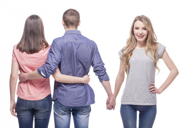 Как избавиться от бывшей девушки парня