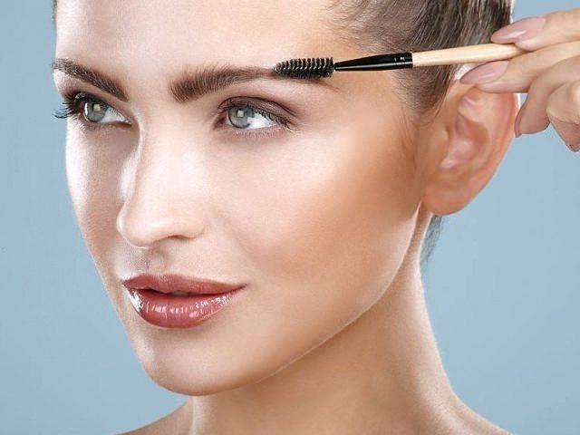 как красить брови карандашом пошаговая инструкция фото