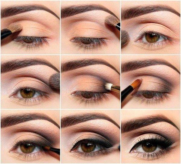 Как красить глаза тенями