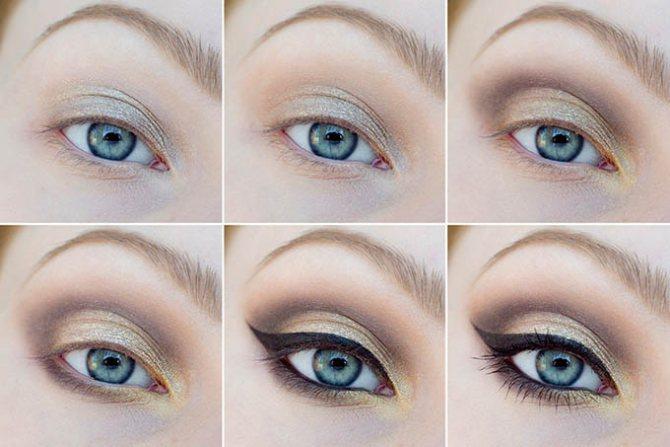 Как красиво красить глаза