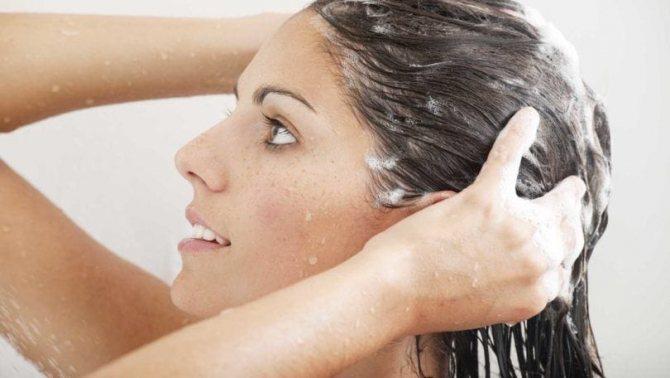 как мыть нарощенные волосы на капсулах