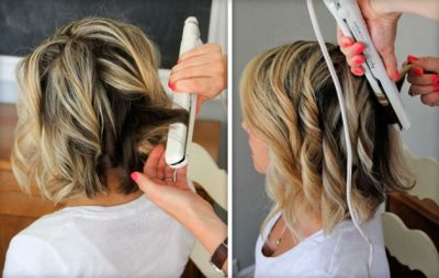 Как накрутить волосы утюжком для выпрямления волос: пошаговая инструкция с фото