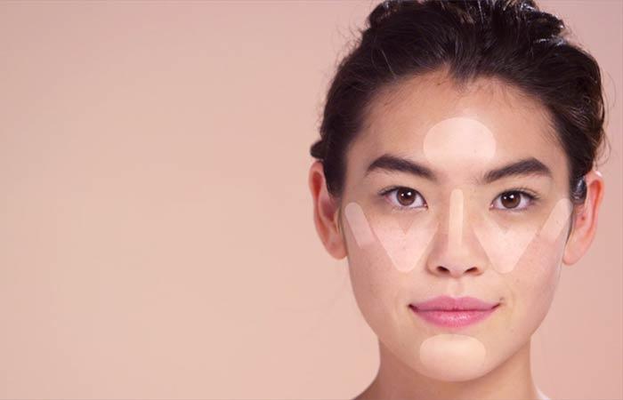 как наносить макияж на лицо