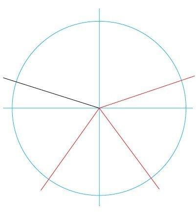 Как нарисовать правильную звезду