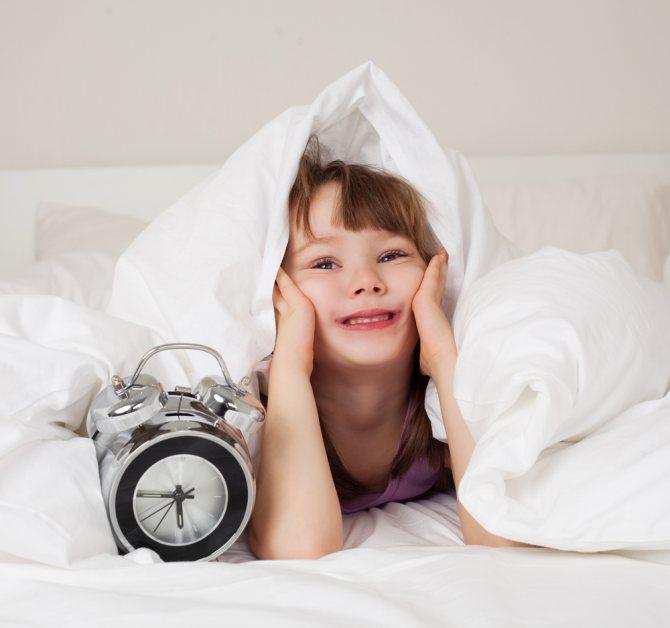 Как научить ребенка рано вставать
