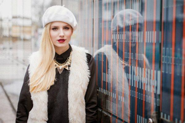 Как носить береты модно: фото