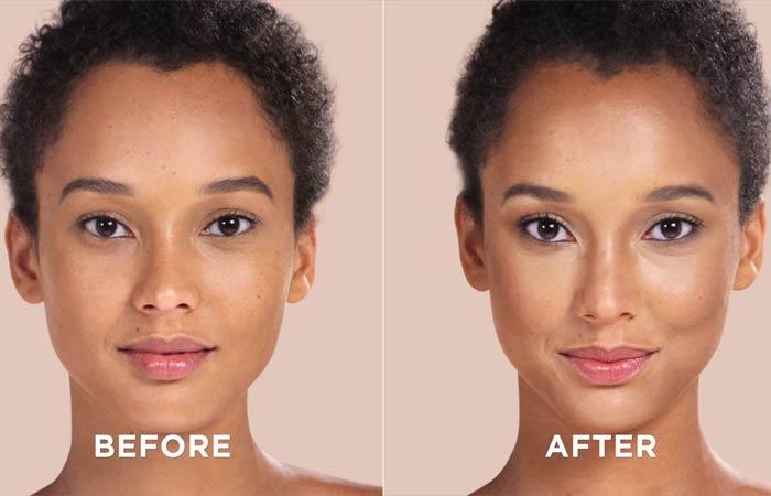 Как обрисовать свое лицо-это уже окончательный результат