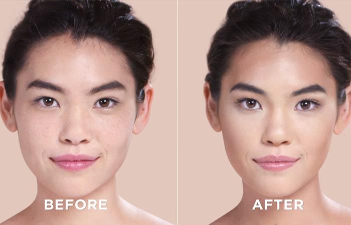 Как обрисовать свое лицо-вот окончательный результат