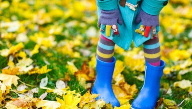 Как одеть ребёнка модно и тепло
