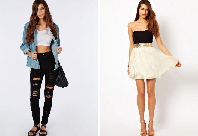 как одеться в клуб девушке летом
