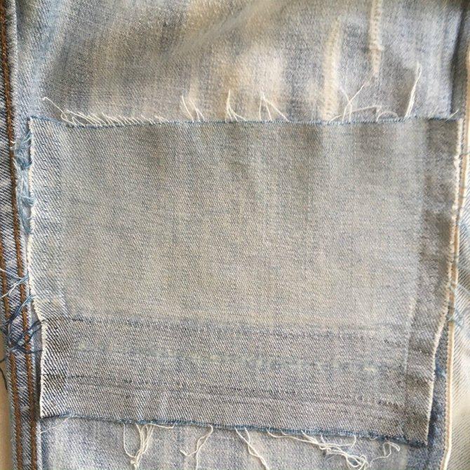 Как отремонтировать джинсы, порванные на колене: мастер-класс