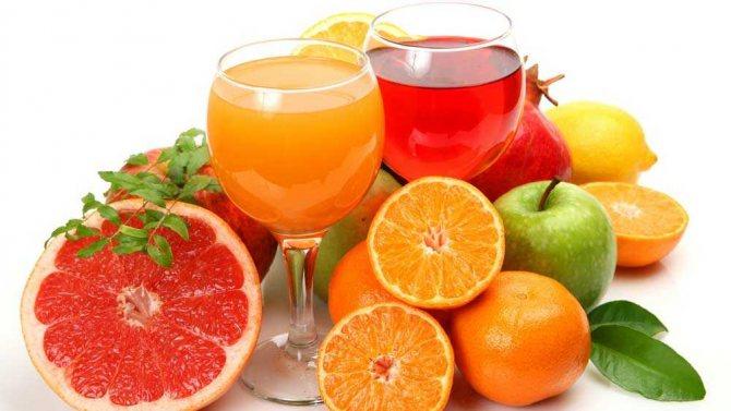 как пить свежевыжатые соки