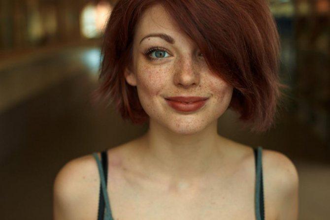 как подобрать краску для волос к зеленым глазам