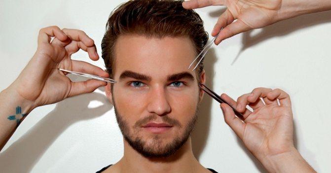 Как подстричь брови в домашних условиях мужчине