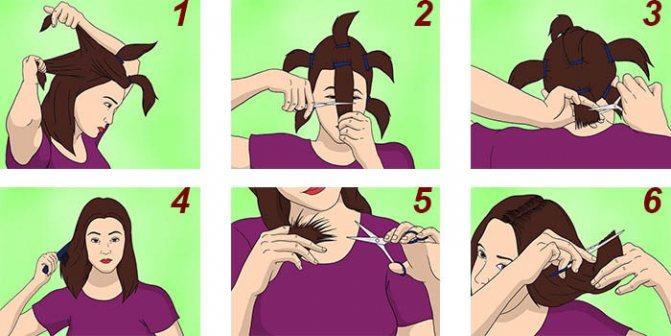 Как подстричь волосы ровно в 6 этапов