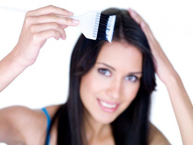 Как покрасить длинные волосы в домашних условиях