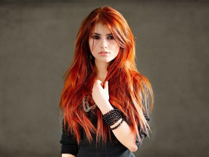 Как покрасить хной длинные волосы