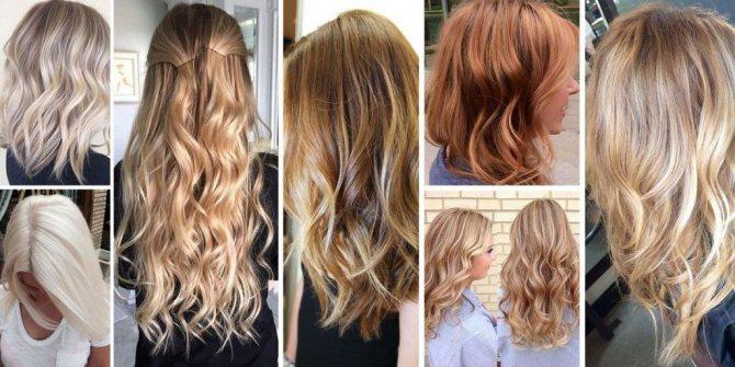 как покрасить русые волосы в светлый цвет