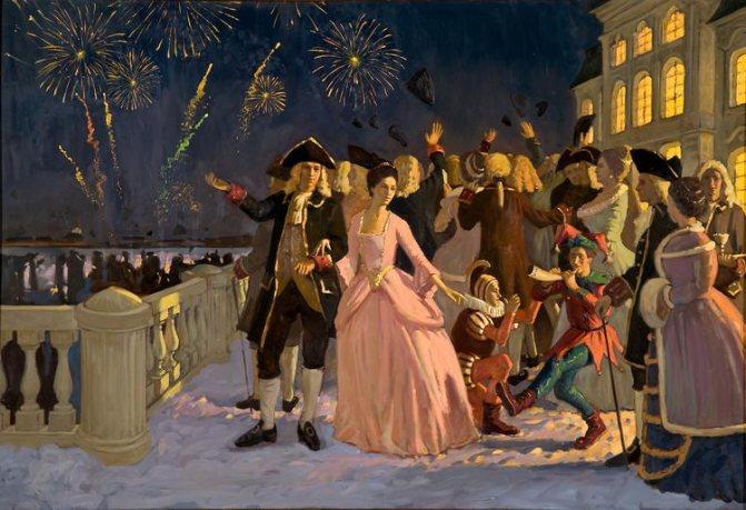 Как появились русские новогодние традиции