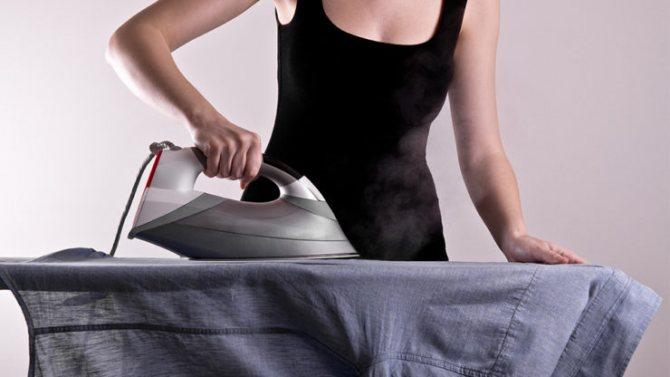 Как правильно гладить рубашку с длинным и коротким рукавом