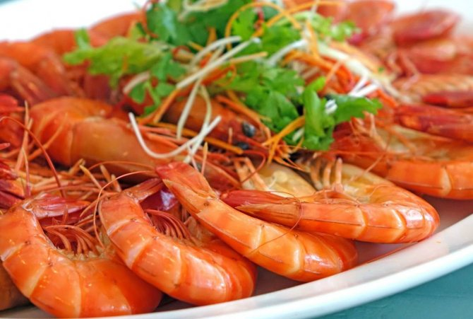 Как правильно готовить креветки