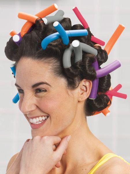 как правильно накручивать бигуди на короткие волосы