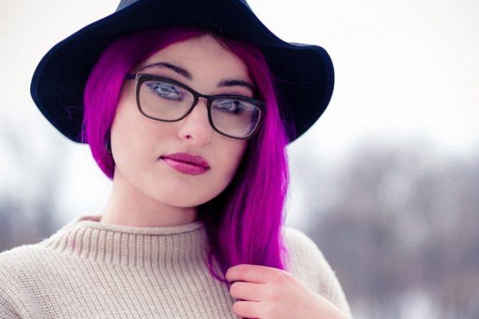как правильно наносить макияж под очки