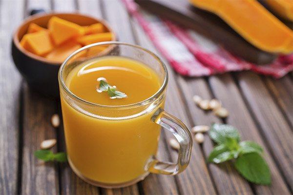 Как правильно пить тыквенный сок