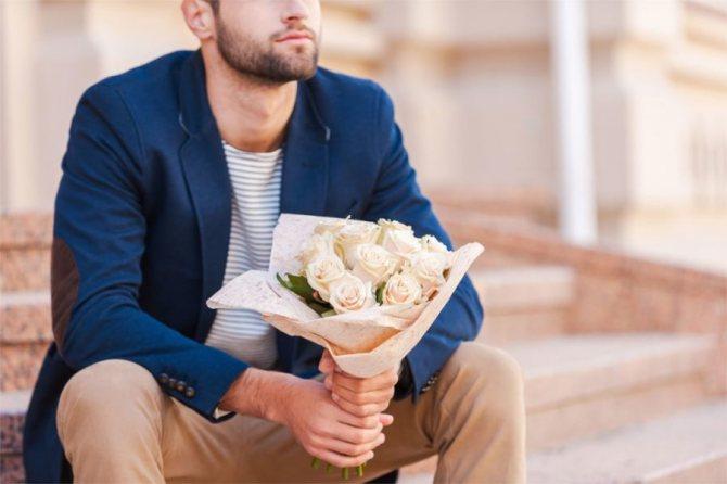 Как правильно подарить цветы