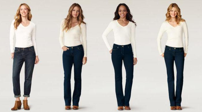 как правильно подобрать джинсы по фигуре женщине