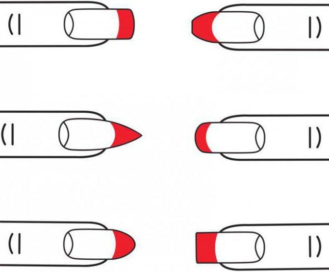 как правильно подпиливать ногти