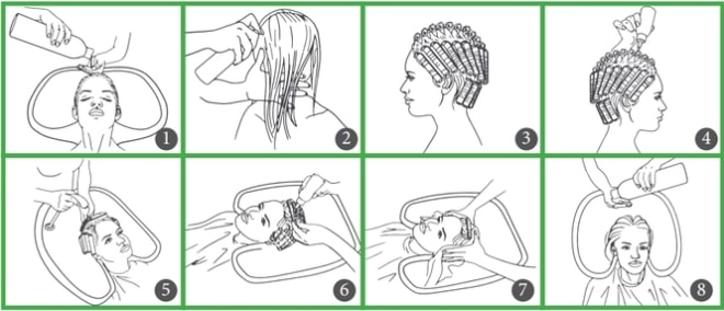 Как правильно сделать завивку волос на длительное время в домашних условиях11