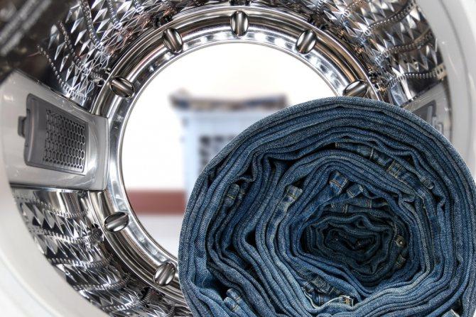Как правильно стирать джинсовую одежду в стиральной машине