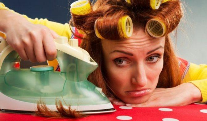 Как правильно выпрямлять волосы утюжком самой