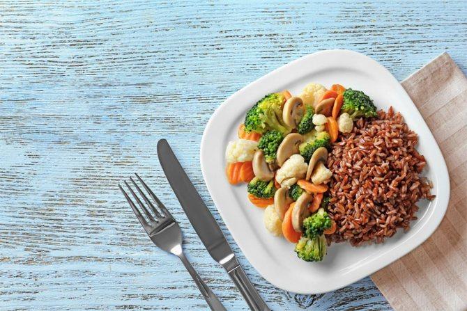 Как приготовить бурый рис?