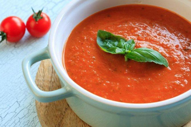 как приготовить диетический овощной суп-пюре