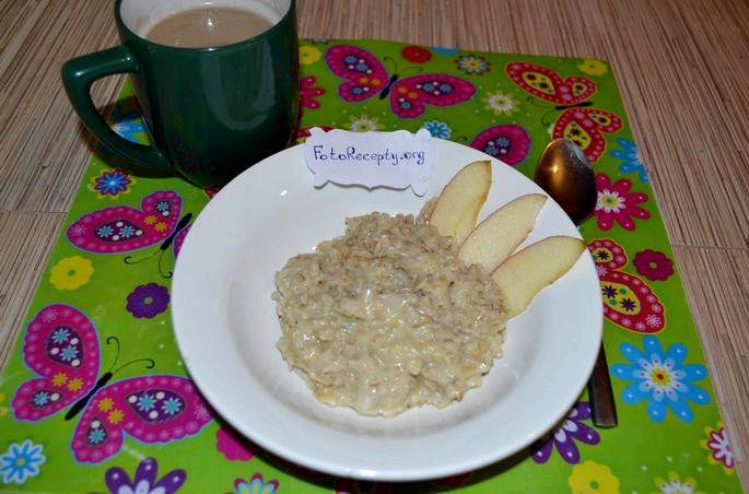 Как приготовить геркулесовую кашу на молоке Подать завтрак, разлив по