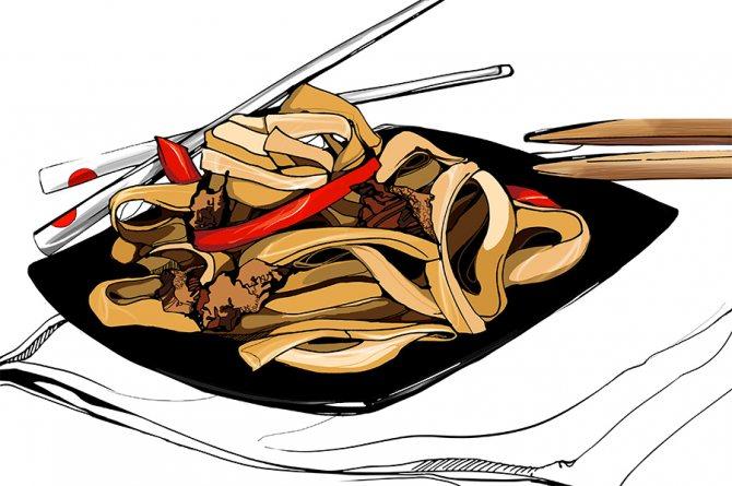 Как приготовить разные виды лапши дома: пять необычных рецептов