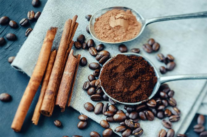 как приготовить скраб для кофе из молотого кофе