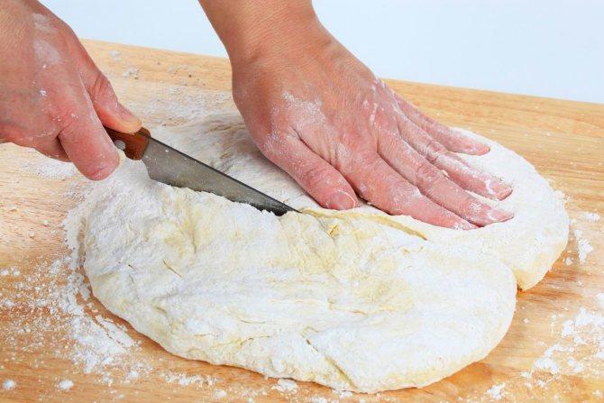 как приготовить тесто для пиццы из кефира