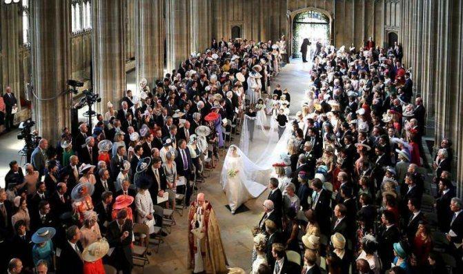 Как прошла свадьба Меган Маркл и принца Гарри