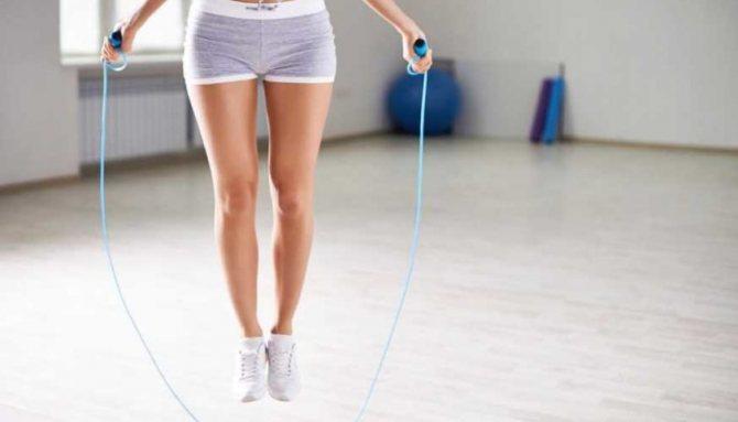Как прыгать со скакалкой чтобы похудеть