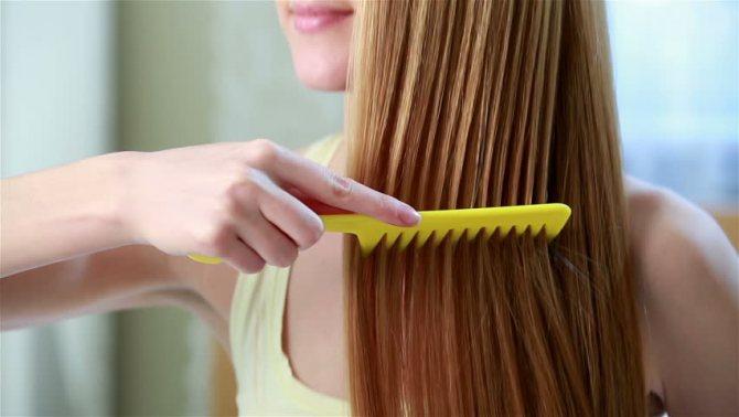 как расчесывать нарощенные волосы