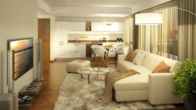 Как расставить мебель в квартире